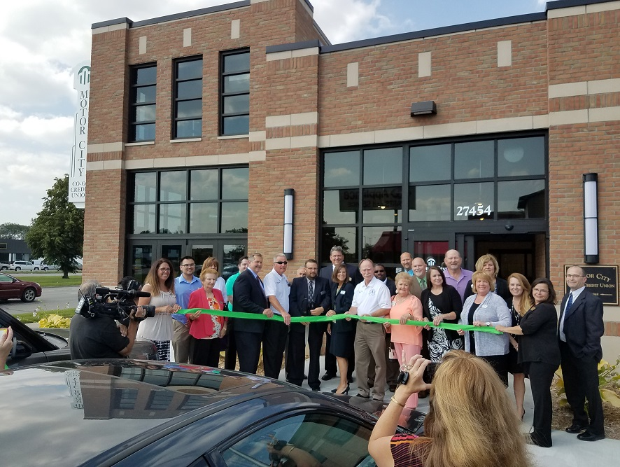Motor City Co-Op Credit Union Ribbon Cutting Event