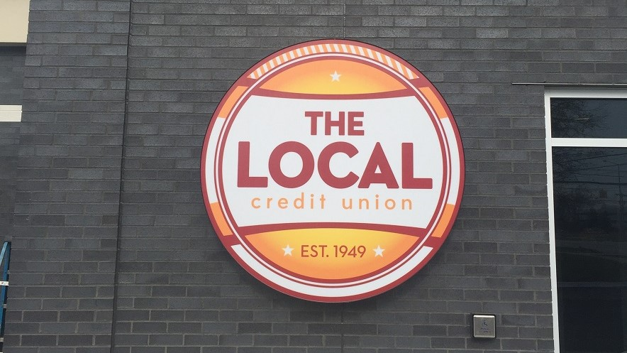 The Local Credit Union Sign
